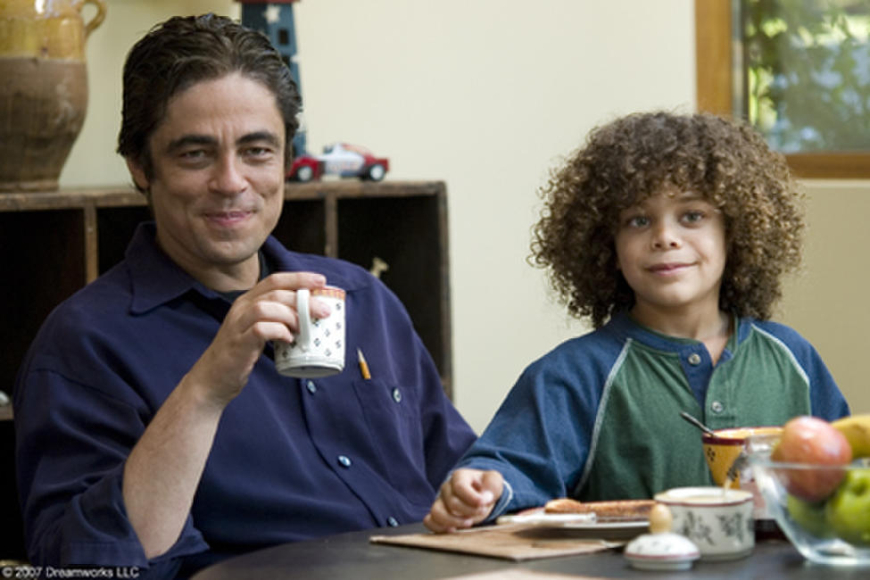 Benicio Del Toro and Micah Berry in